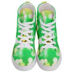 Soft Lights Bokeh 3 Men s Hi Top Skate Sneakers