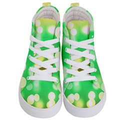 Soft Lights Bokeh 3 Kid s Hi Top Skate Sneakers