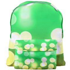 Soft Lights Bokeh 3 Giant Full Print Backpack