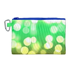 Soft Lights Bokeh 3 Canvas Cosmetic Bag (large)