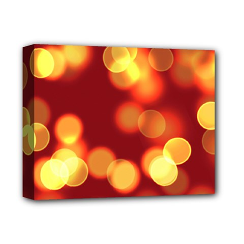 Soft Lights Bokeh 4 Deluxe Canvas 14  X 11