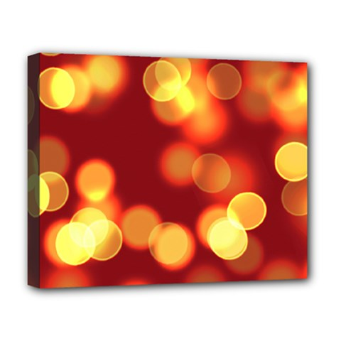 Soft Lights Bokeh 4 Deluxe Canvas 20  X 16