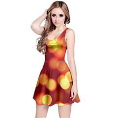 Soft Lights Bokeh 4 Reversible Sleeveless Dress