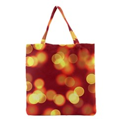 Soft Lights Bokeh 4 Grocery Tote Bag