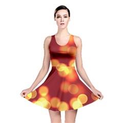 Soft Lights Bokeh 4 Reversible Skater Dress