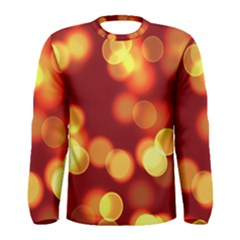 Soft Lights Bokeh 4 Men s Long Sleeve Tee