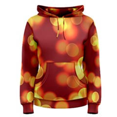 Soft Lights Bokeh 4 Women s Pullover Hoodie