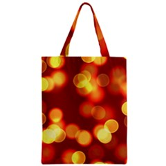 Soft Lights Bokeh 4 Zipper Classic Tote Bag