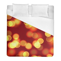 Soft Lights Bokeh 4 Duvet Cover (full/ Double Size)