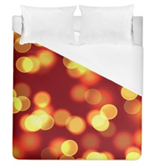Soft Lights Bokeh 4 Duvet Cover (queen Size)