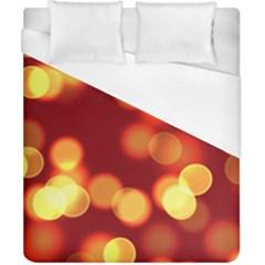 Soft Lights Bokeh 4 Duvet Cover (california King Size)