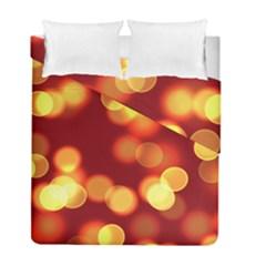 Soft Lights Bokeh 4 Duvet Cover Double Side (full/ Double Size)