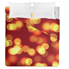 Soft Lights Bokeh 4 Duvet Cover Double Side (queen Size)