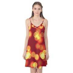 Soft Lights Bokeh 4 Camis Nightgown
