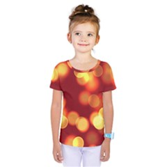 Soft Lights Bokeh 4 Kids  One Piece Tee