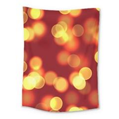 Soft Lights Bokeh 4 Medium Tapestry