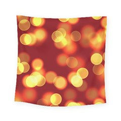 Soft Lights Bokeh 4 Square Tapestry (small)