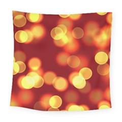 Soft Lights Bokeh 4 Square Tapestry (large)