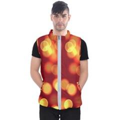 Soft Lights Bokeh 4 Men s Puffer Vest