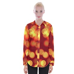 Soft Lights Bokeh 4 Womens Long Sleeve Shirt