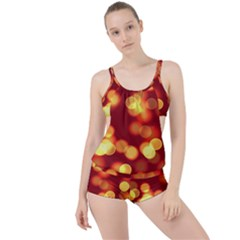 Soft Lights Bokeh 4 Boyleg Tankini Set