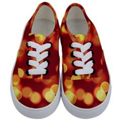 Soft Lights Bokeh 4 Kids  Classic Low Top Sneakers
