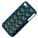 Cartoon Animals In Gold And Silver Gift Decorations Apple iPhone 4/4S Hardshell Case (PC+Silicone) View4