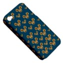 Cartoon Animals In Gold And Silver Gift Decorations Apple iPhone 4/4S Hardshell Case (PC+Silicone) View5