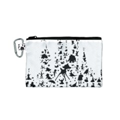 Happiest Castle On Earth Canvas Cosmetic Bag (small)