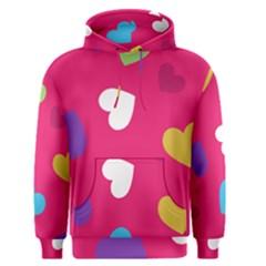Valentine s Day Pattern Men s Pullover Hoodie