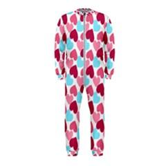 Bold Valentine Heart Onepiece Jumpsuit (kids)