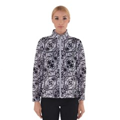 Black And White Ornate Pattern Winterwear