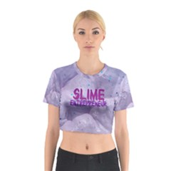 Slime Entrepreneur Cotton Crop Top