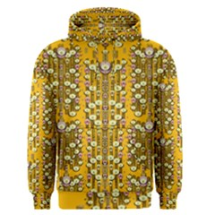 Rain Showers In The Rain Forest Of Bloom And Decorative Liana Men s Pullover Hoodie