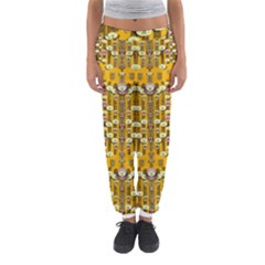 Rain Showers In The Rain Forest Of Bloom And Decorative Liana Women s Jogger Sweatpants