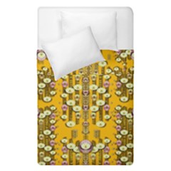 Rain Showers In The Rain Forest Of Bloom And Decorative Liana Duvet Cover Double Side (single Size)