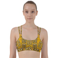 Rain Showers In The Rain Forest Of Bloom And Decorative Liana Line Them Up Sports Bra