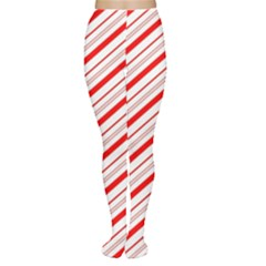Candy Cane Stripes Women s Tights
