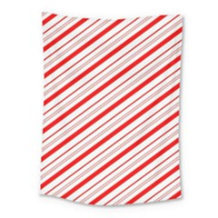 Candy Cane Stripes Medium Tapestry