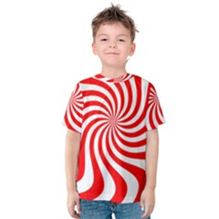 Peppermint Candy Kids  Cotton Tee