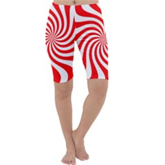 Peppermint Candy Cropped Leggings