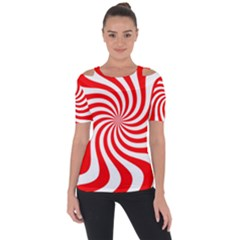 Peppermint Candy Short Sleeve Top