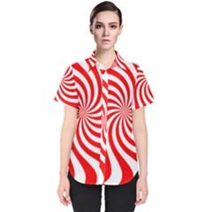 Peppermint Candy Women s Short Sleeve Shirt