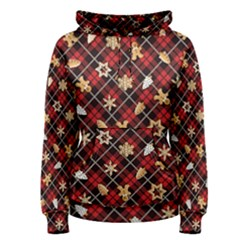 Gingerbread Red Women s Pullover Hoodie