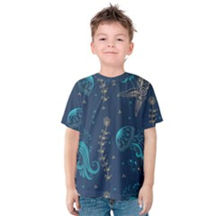 Arabesque Vintage Graphic Nature Kids  Cotton Tee