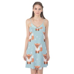 Cute Fox Pattern Camis Nightgown