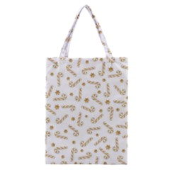 Golden Candycane Light Classic Tote Bag
