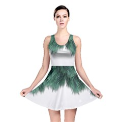 Snow And Tree Reversible Skater Dress