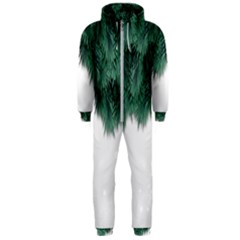 Snow And Tree Hooded Jumpsuit (men)