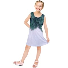 Snow And Tree Kids  Tunic Dress